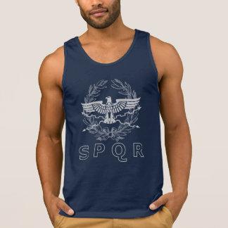 SPQR The Roman Empire Emblem Tank Top