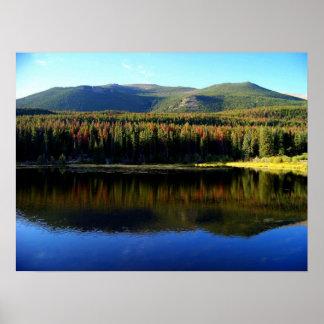 Sprague Lake Reflection Poster