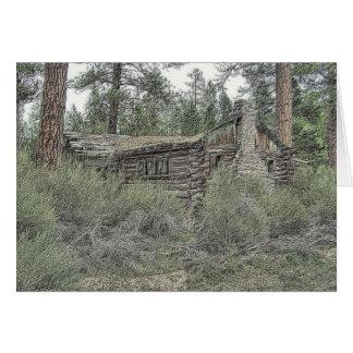 Sprague River Cabin Card