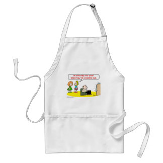 sprained wrist exercise DVD Adult Apron