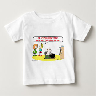 sprained wrist exercise DVD Baby T-Shirt