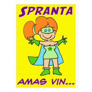 spranta esperanto amas vin postcard