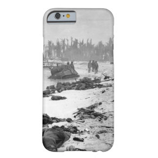 Sprawled bodies on beach of Tarawa_War  Image Barely There iPhone 6 Case