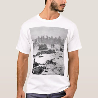 Sprawled bodies on beach of Tarawa_War  Image T-Shirt