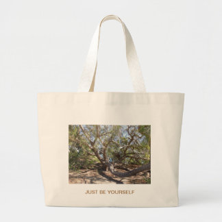 Sprawling Tree Near Santa Barbara on Coast Jumbo Tote Bag