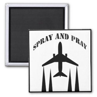 spray-and-pray chemtrails 2 inch square magnet