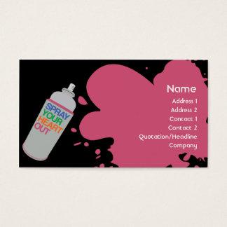 Spray - Business Business Card