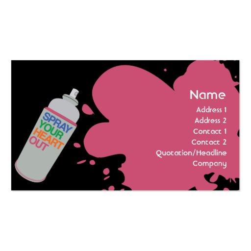 Spray - Business Business Card Template