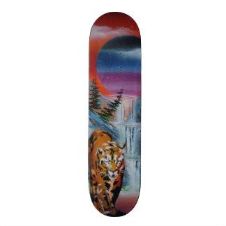 spray can art skateboard deck