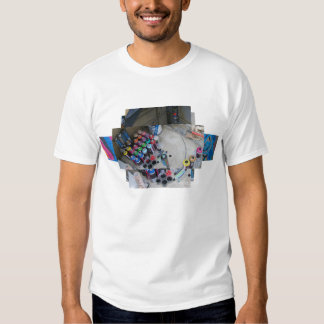 Spray can Graffiti montage T-shirt