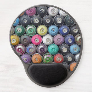 Spray cans gel mouse pad