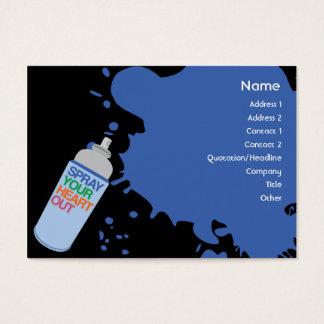 Spray - Chubby Business Card