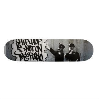 Spray Cops Deck. Skateboard Deck