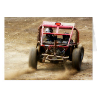 Spray Dirt! ATV Dunebuggy spins out Card