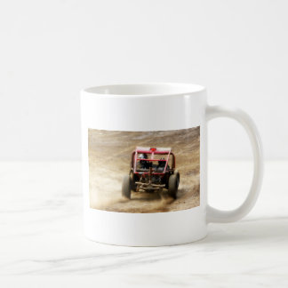 Spray Dirt! ATV Dunebuggy spins out Coffee Mug