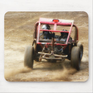 Spray Dirt! ATV Dunebuggy spins out Mouse Pad
