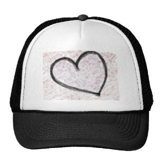 Spray Heart Trucker Hat