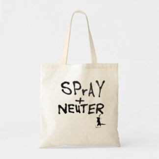 """SPrAY + NEUTER"" No. 2 Tote Bag"
