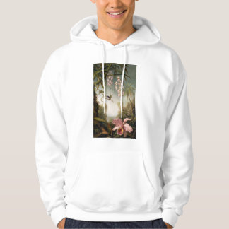 Spray Orchids with Hummingbird Hoodie
