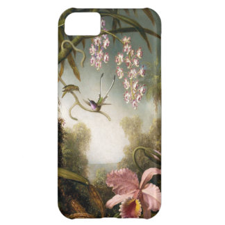 Spray Orchids with Hummingbird iPhone 5 Case