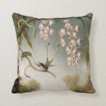 Spray Orchids with Hummingbird Pillow