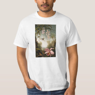 Spray Orchids with Hummingbird T-shirt