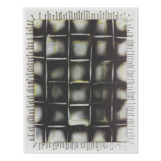 """Spray Paint And Screws 12"""" x14"""" Streched Canvass Faux Canvas Print"""
