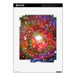 Spray Paint Art Night Sky Space Painting Decal For iPad 3