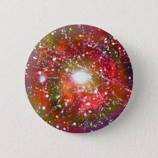 Spray Paint Art Night Sky Space Painting Pinback Button