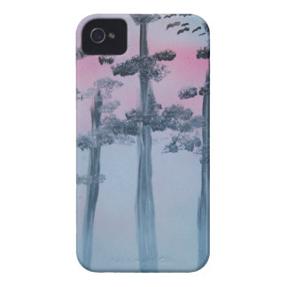 Spray Paint Art Sky and Trees Case-Mate iPhone 4 Case