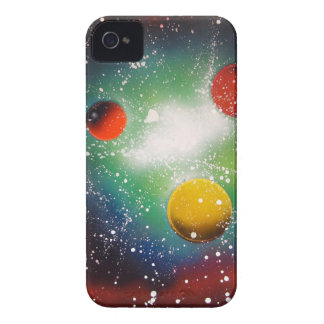 Spray Paint Art Space Galaxy Painting iPhone 4 Cover