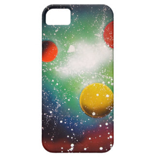 Spray Paint Art Space Galaxy Painting iPhone SE/5/5s Case