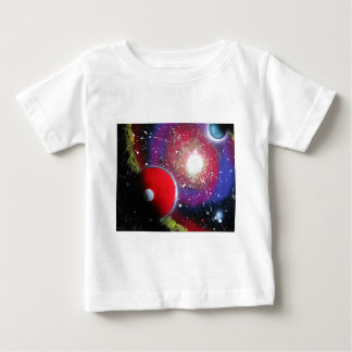Spray Paint Art Space Galaxy Painting Shirt