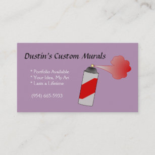 Spray painting business cards zazzle spray paint can business cards colourmoves