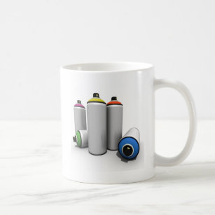 Spray Paint Can Coffee Travel Mugs Zazzle