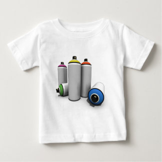 Spray Paint Cans Shirt