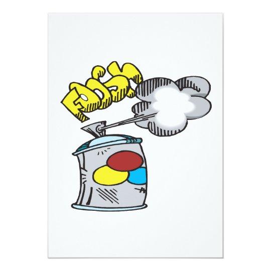 Spray Paint Card