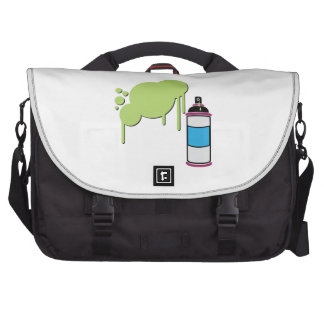 Spray Paint Laptop Messenger Bag