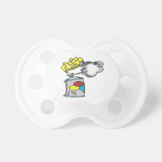 Spray Paint Pacifiers