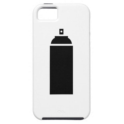 Spray paint pictogram iphone 5 case zazzle for Spray paint phone case