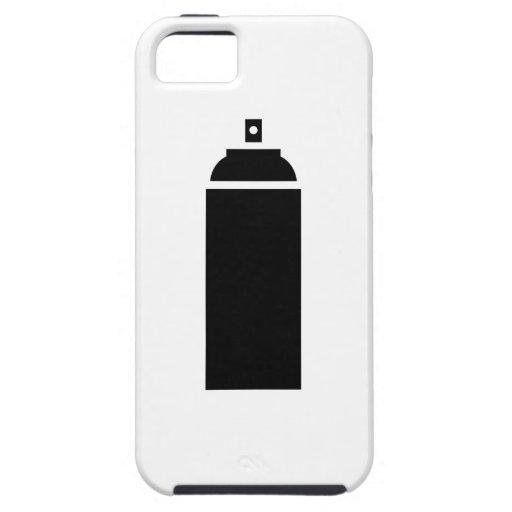 Spray paint pictogram iphone 5 case zazzle for Spray paint iphone case