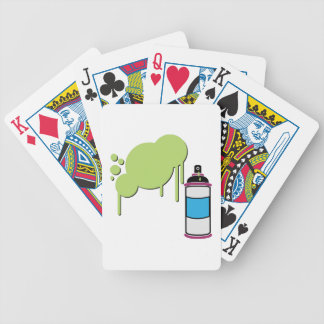 Spray Paint Deck Of Cards