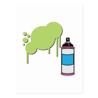 Spray Paint Post Card