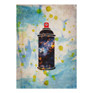 Spray Paint Poster