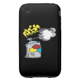 Spray Paint Tough iPhone 3 Cover