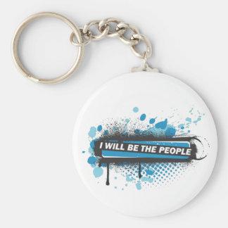 Spray Pledge Keychain