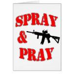 Spray & Pray Card