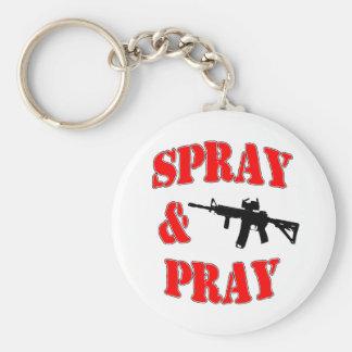 Spray & Pray Keychain