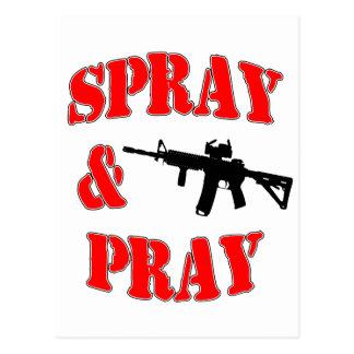 Spray & Pray Postcard