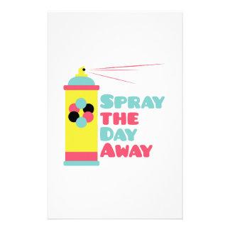 Spray Personalized Stationery